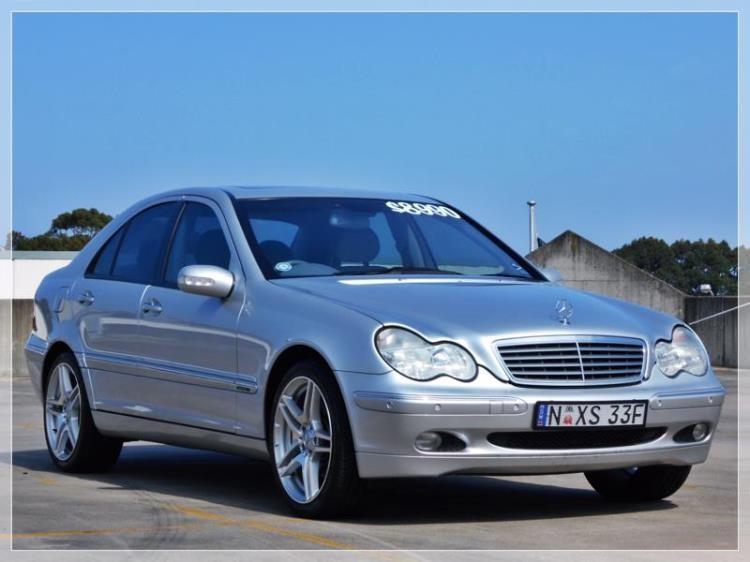 2000 Mercedes-Benz C240 ELEGANCE