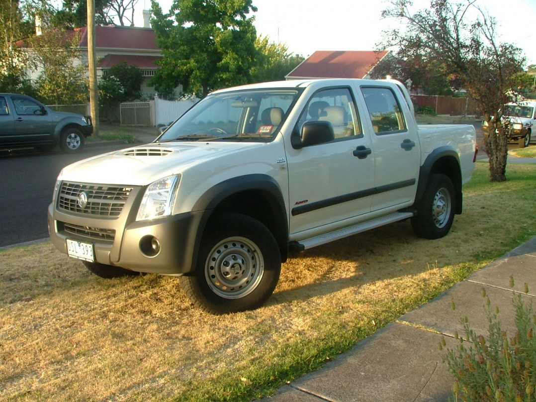 2007 Holden Rodeo RA LX Utility Crew Cab 4dr Manual 5sp 4x4 3.0 Turbo Diesel
