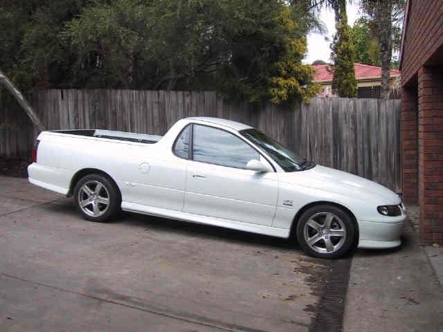 2001 Holden VU SS Commodore Ute