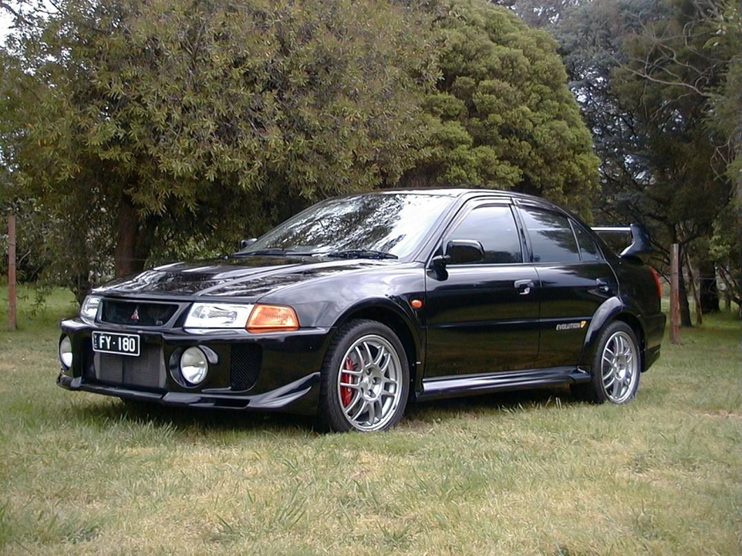 1998 Mitsubishi Lancer Evolution 5 GSR