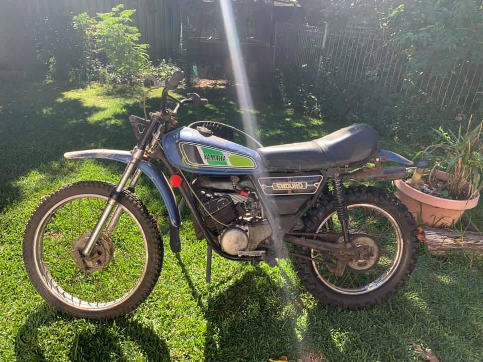1976 Yamaha 97cc DT100