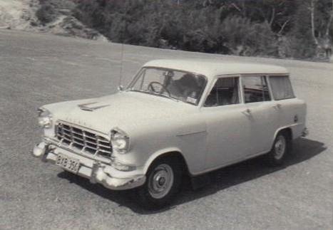 1956 Holden FC Standard Station Sedan