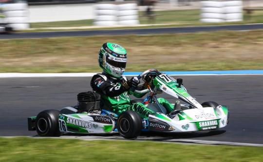 2014 OTK FA Fernando Alonso racing Go Kart Cadet 900