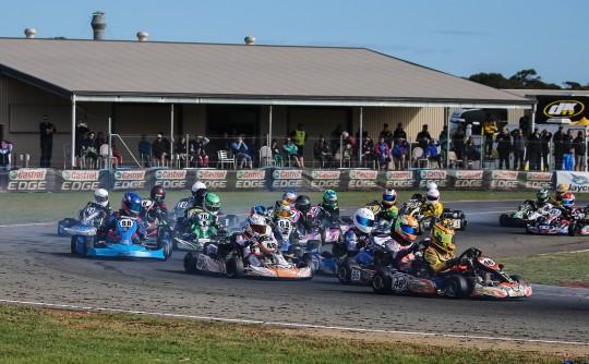 Australian Karting Championship Rd 3 Monarto SA.