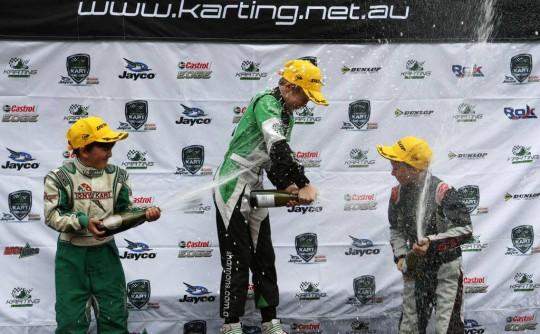 Australian Kart Championship Round 1 Port Melbourne