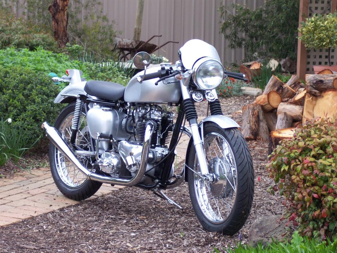 1956 Triumph 650cc T110