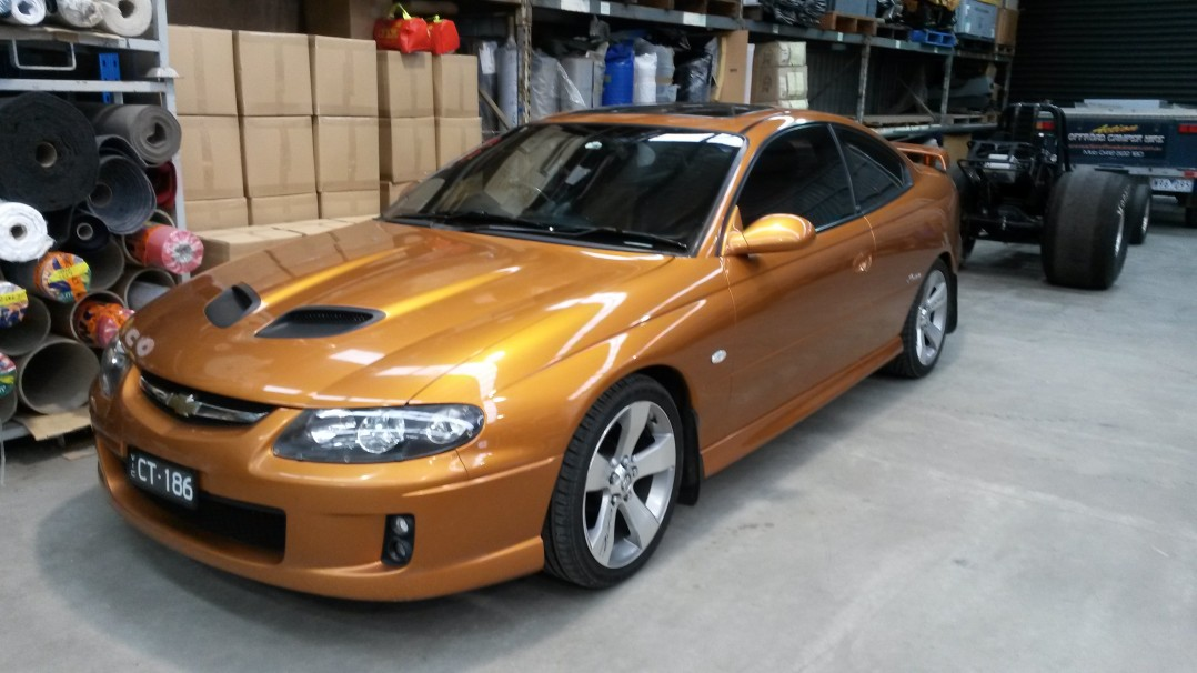 2005 Holden MONARO CV8-Z