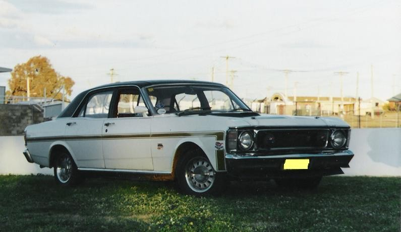 1971 Ford XW GT Fairmont