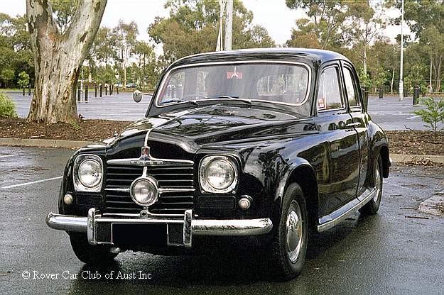 1951 Rover P4 Cyclops