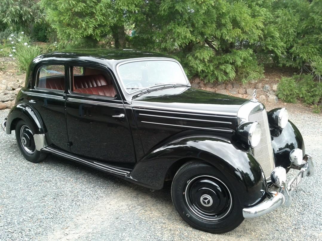 1954 Mercedes-Benz 170 S-D