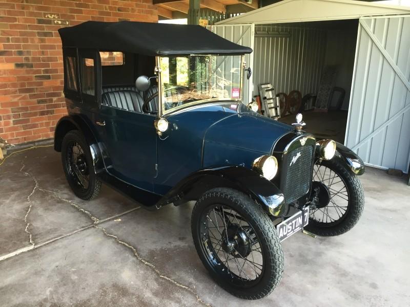1928 Austin 7 Chummy Tourer