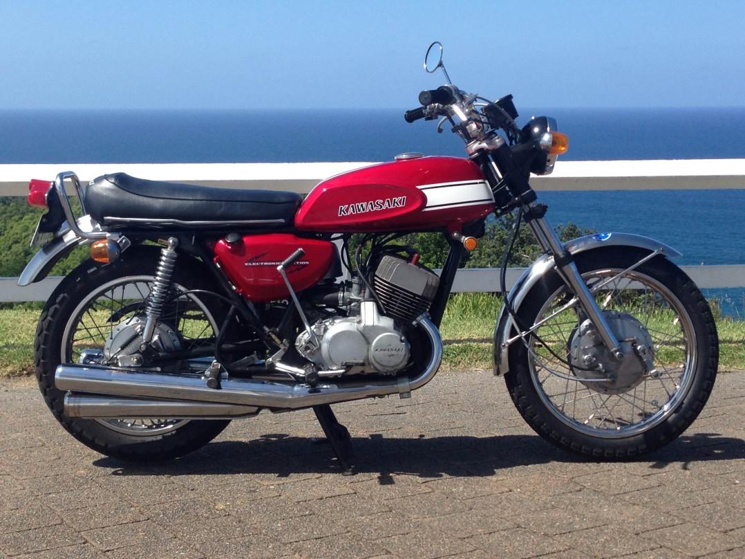 1970 Kawasaki Mach 3 H1 500