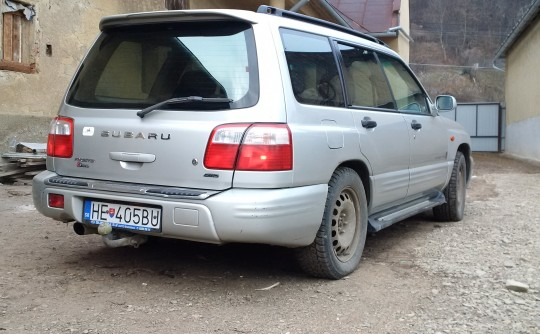 2000 Subaru FORESTER S-EDITION