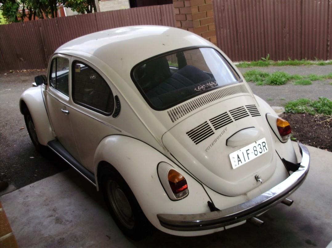 1973 Volkswagen BEETLE 1.6