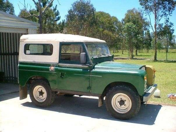 1974 Land Rover 88 Inch SWB Hard Top
