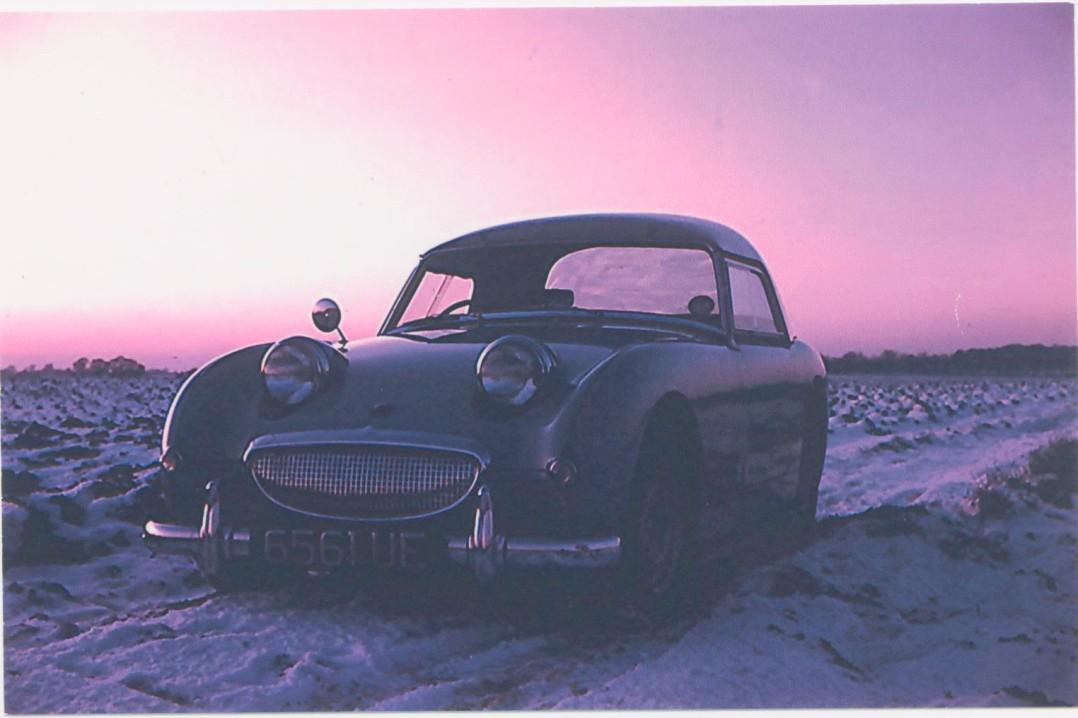 1959 Austin Healey Sprite Mk 1