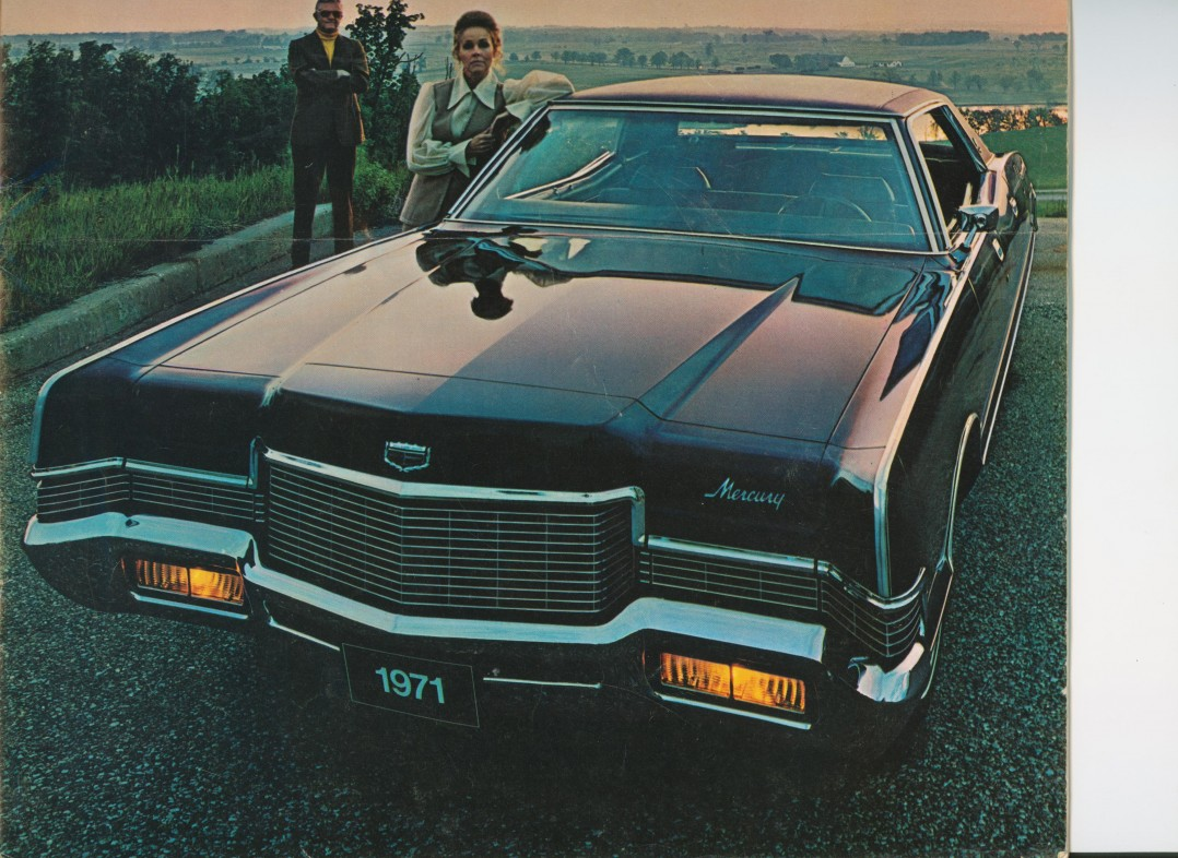 1971 Lincoln Mercury Marquis Brougham