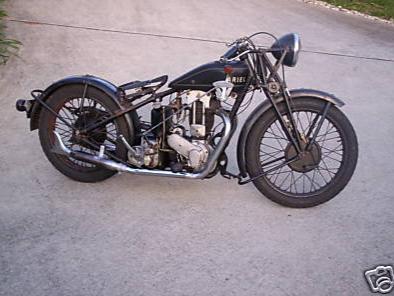 1929 Ariel 500cc OHV