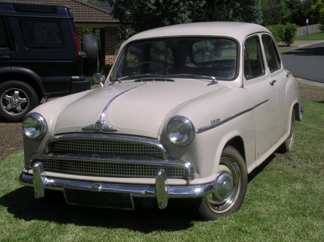 1956 Morris Isis