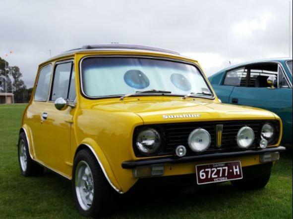1977 Leyland MINI SUNSHINE