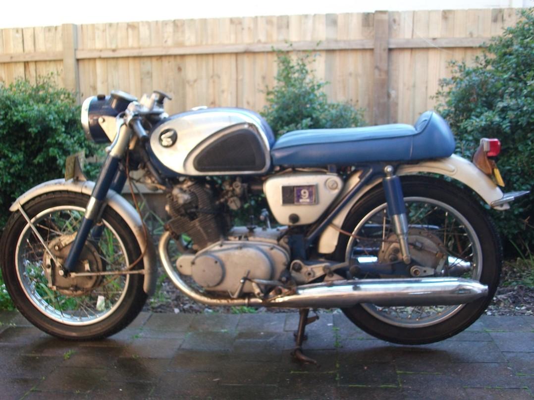 1963 Honda CB72