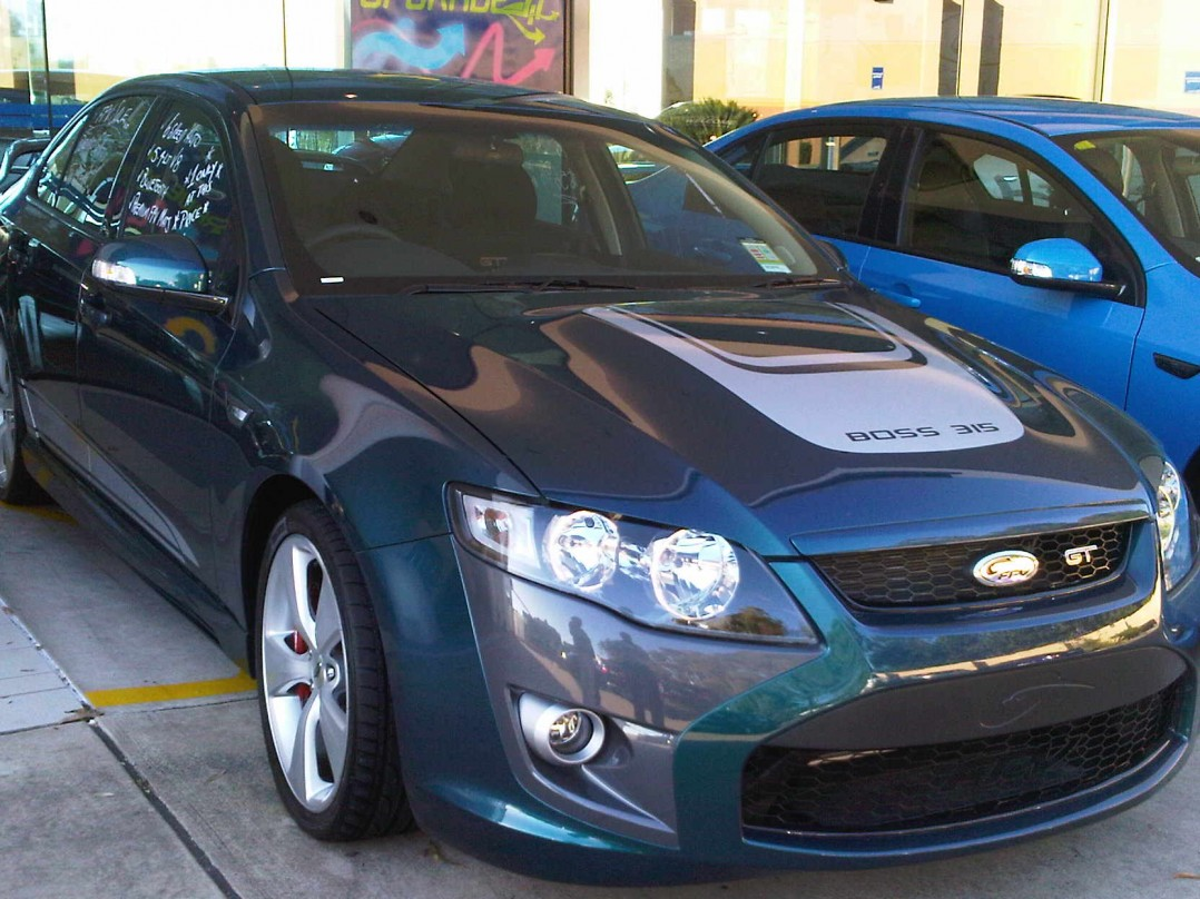 2009 Ford Performance Vehicles GT