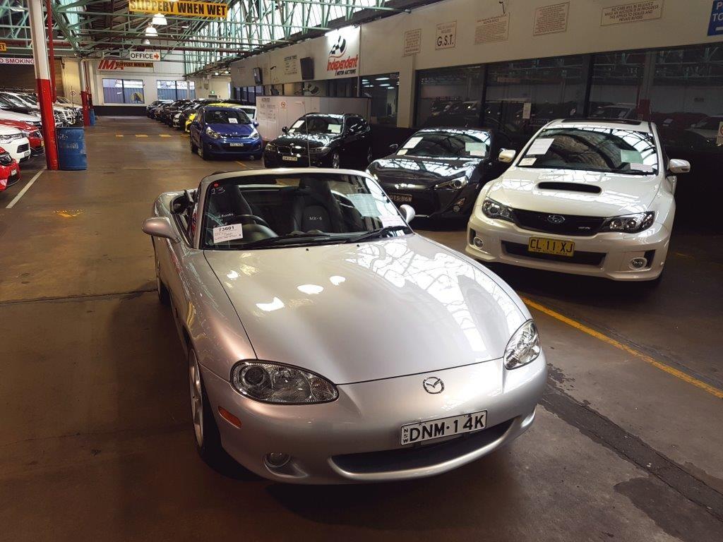 2002 Mazda MX-5 SP