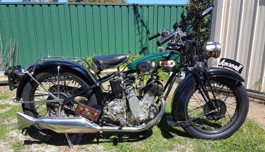 1930 BSA S30 Sloper
