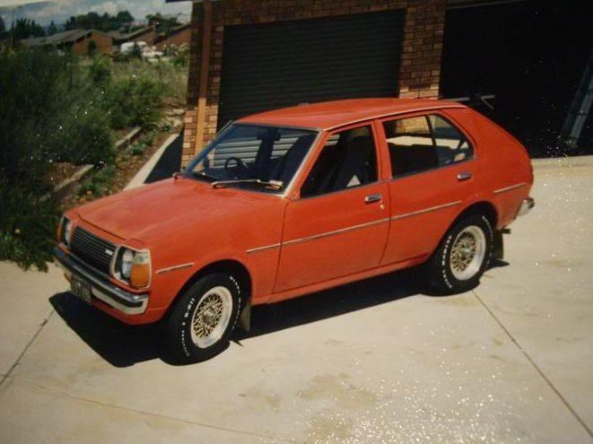 1977 Mazda 323