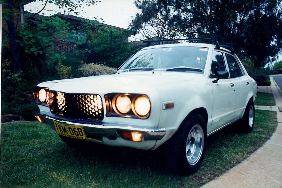 1974 Mazda 808 RX3