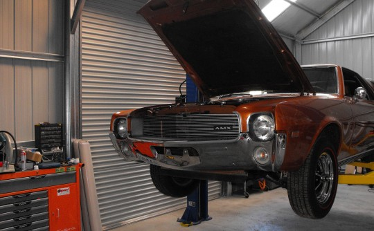 1969 American Motors AMX Group 19
