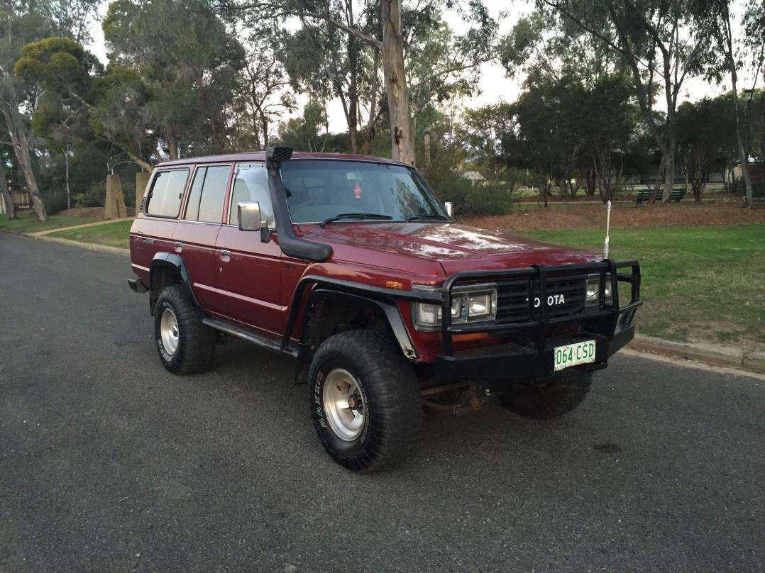 1989 Toyota Hj 62 modified