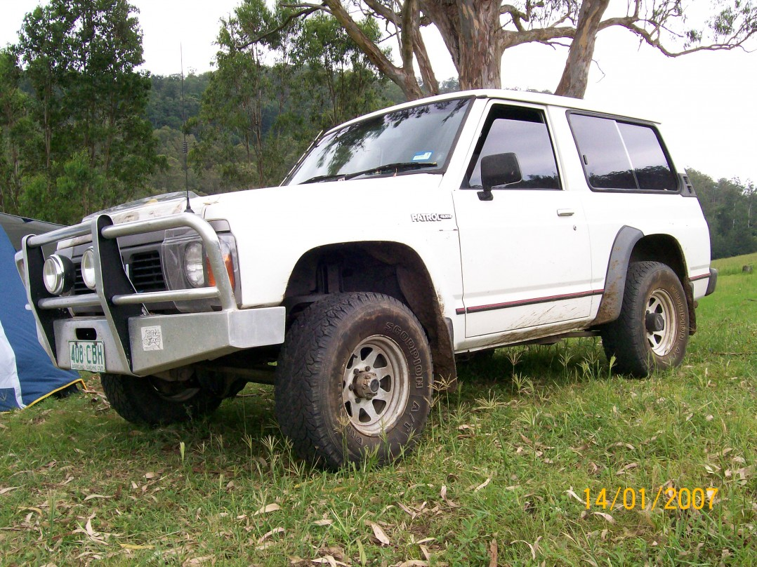 1989 Nissan SWB PATROL (4x4)
