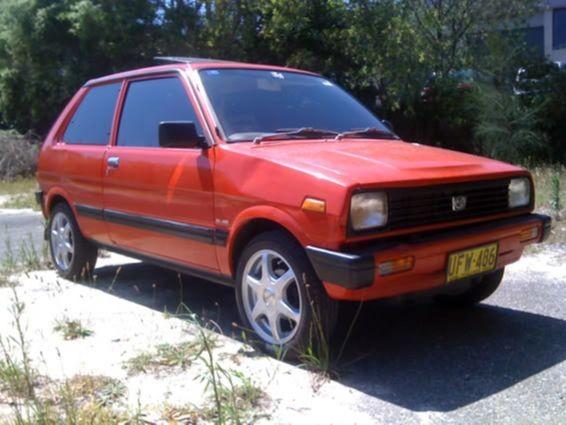1988 Subaru Sherpa Sport