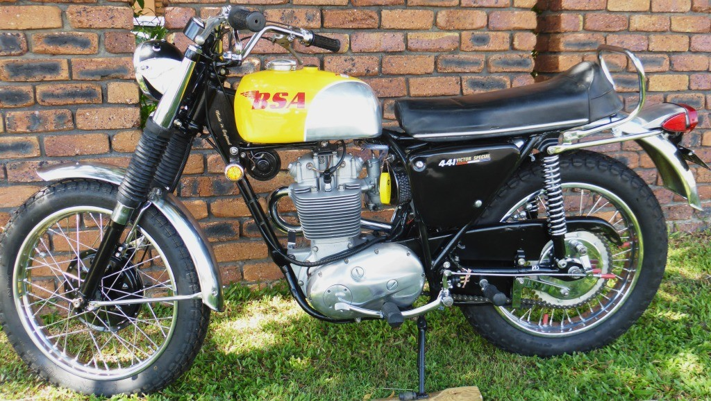 1968 BSA Victor Special 441