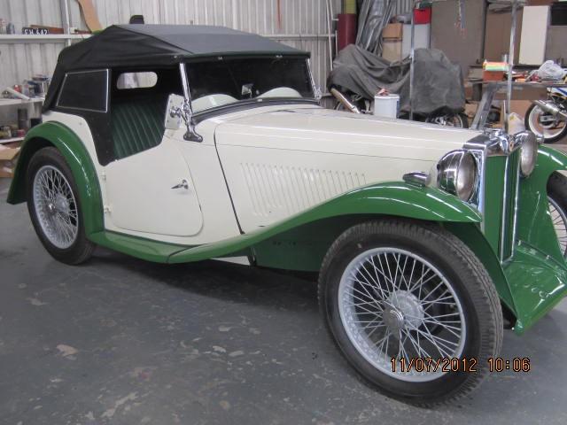 1936 MG TA Narrow Guard