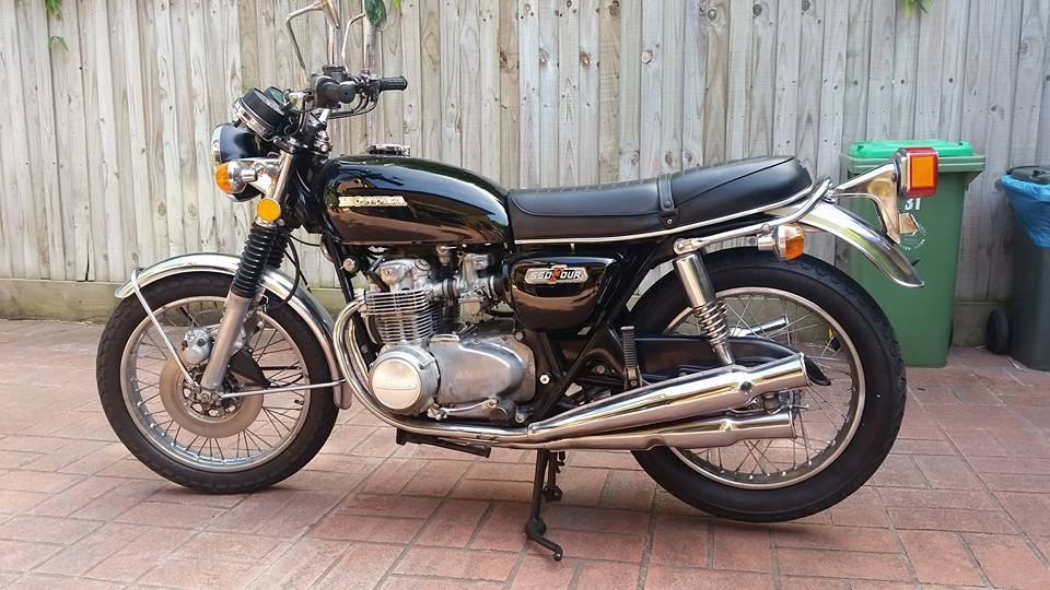 1974 Honda 544cc CB550