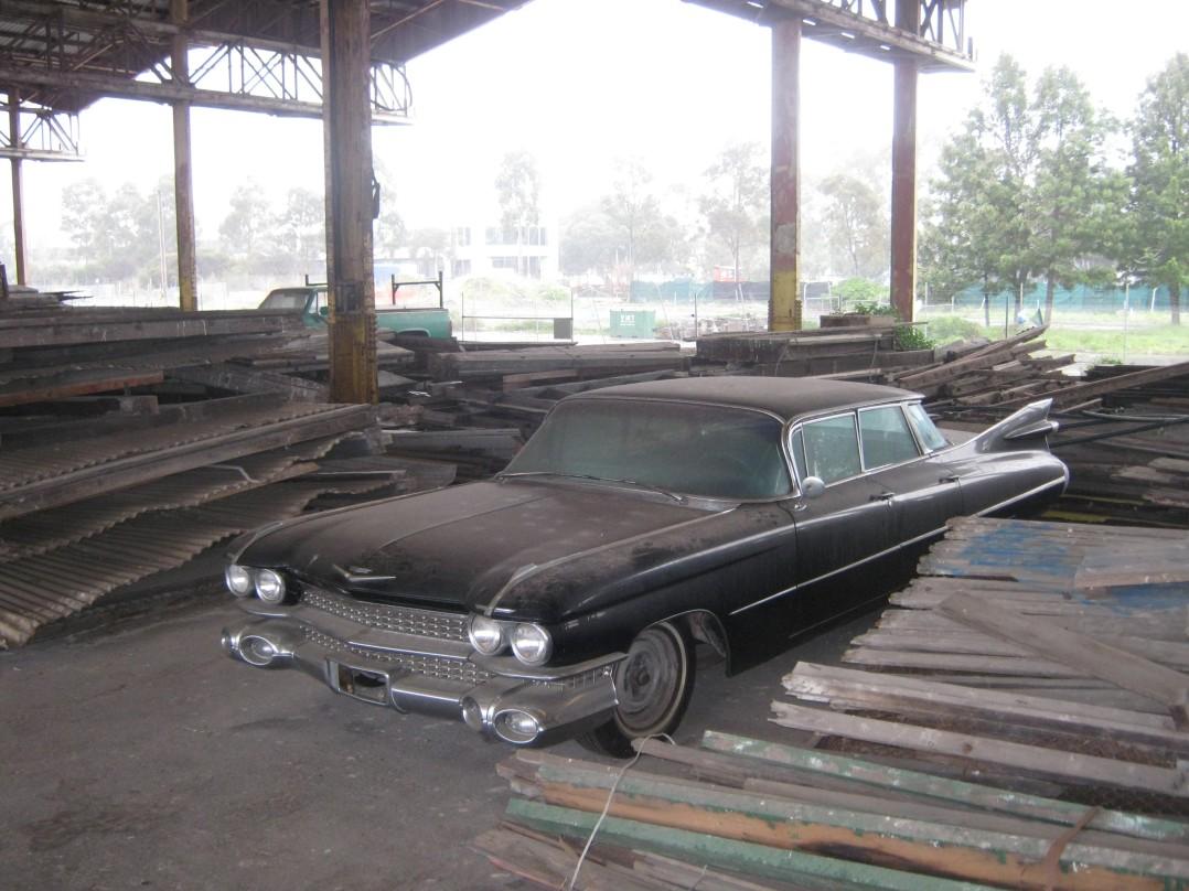 1959 Cadillac 4 Window Flat Top DeVille
