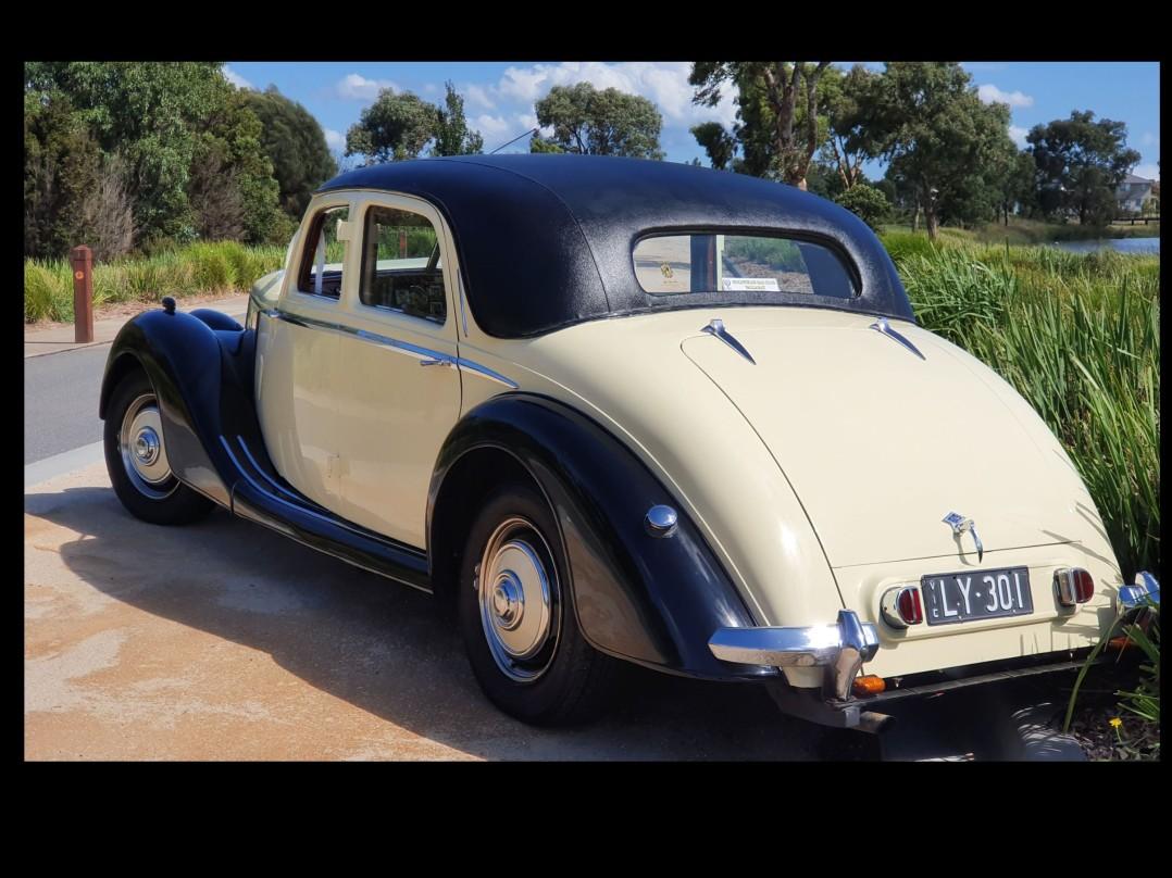 1951 Riley MRA