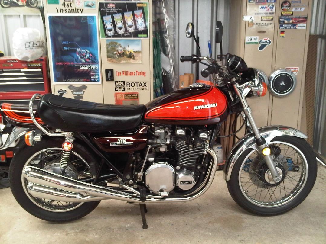 1973 Kawasaki Z1 900  (Jaffa)