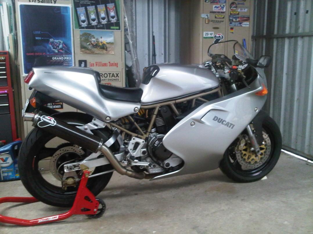 1997 Ducati 900 SS FE (Final Edition) #189/500