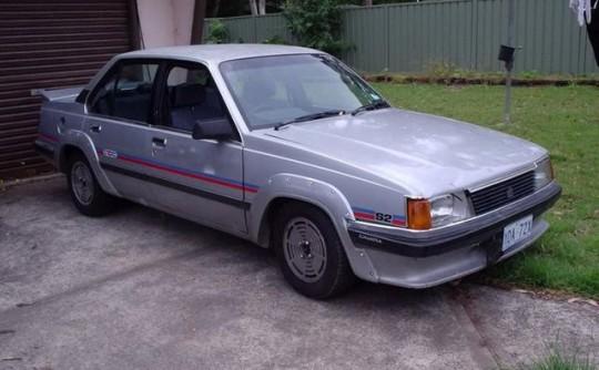 1982 Holden CDT Camira SL/X S2