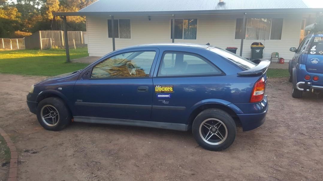 2002 Holden TS Astra SXi