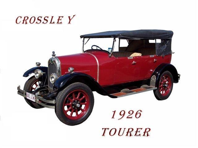 1926 Crossley 14 HP