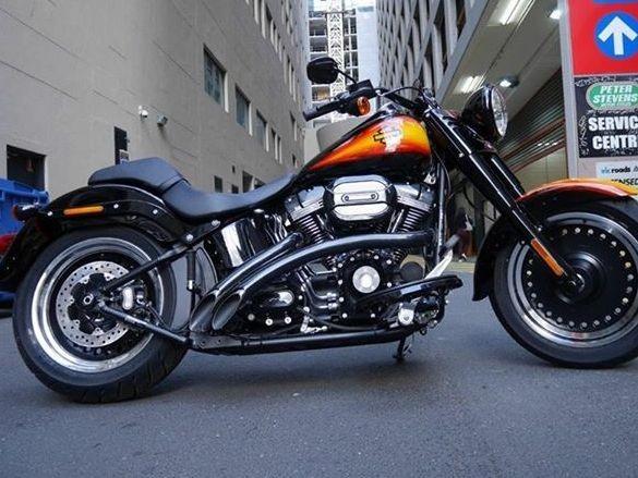 2016 Harley-Davidson 1690cc FLSTFSE2 S/EAGLE FAT BOY