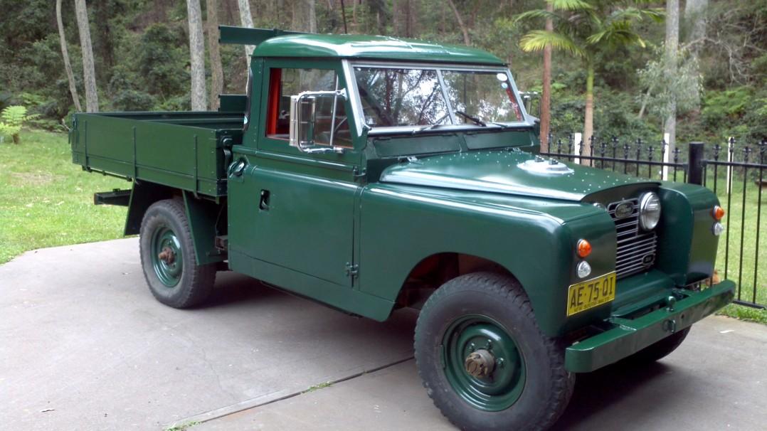 1968 Land Rover Series 11a