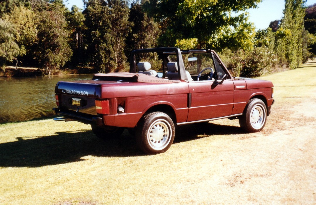 1979 Range Rover Automagination Convertible