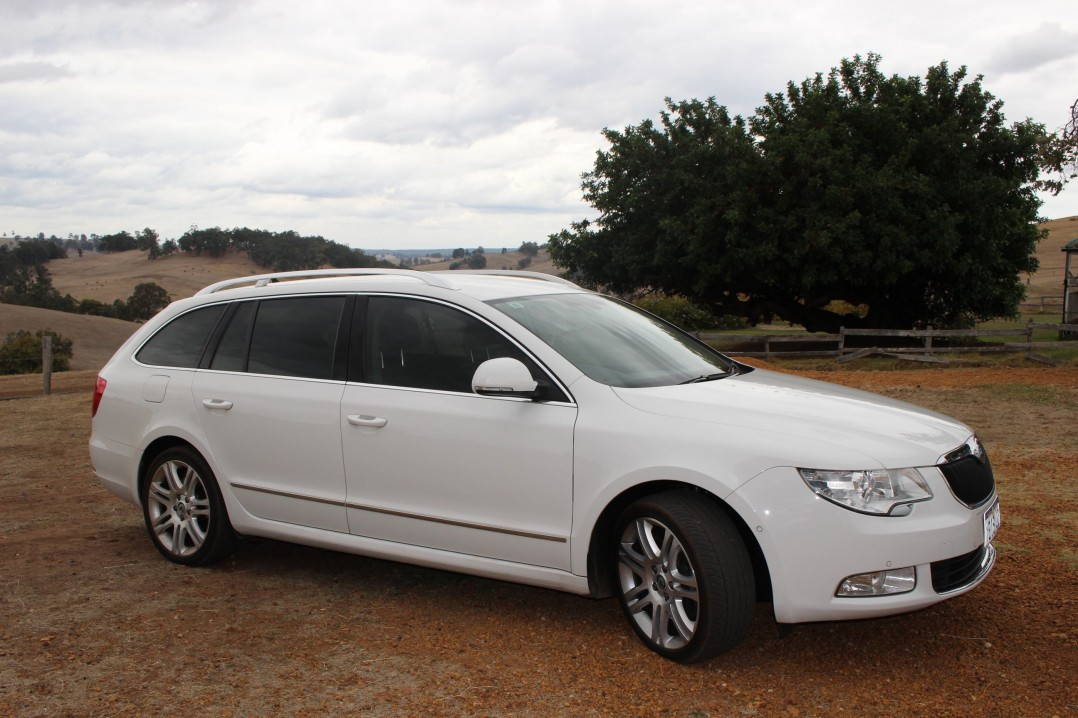 2010 Skoda Superb V6 191 4WD Wagon