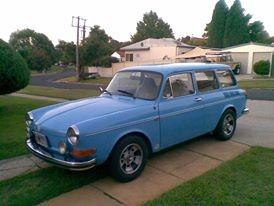 1971 Volkswagen 1600 SQUAREBACK