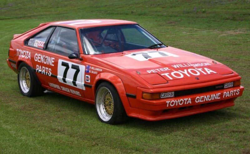 1983 Toyota Celica Supra MA61 Group A Race Car